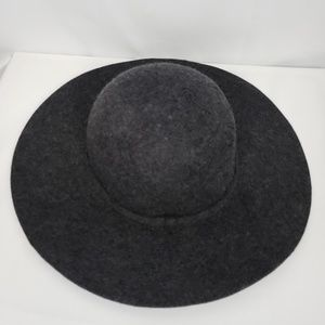 Accessories - Deena & Ozzy Gray Wool floppy Hat Urban Outfitters